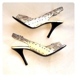CALVIN KLEIN Snake Sandals